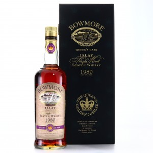 Bowmore 1980 Queen's Cask 21 Year Old / Golden Jubilee