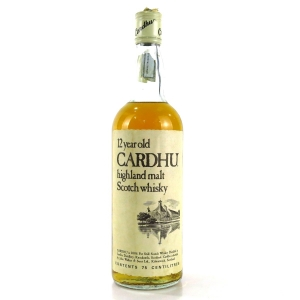 Cardhu 12 Year Old 1980s