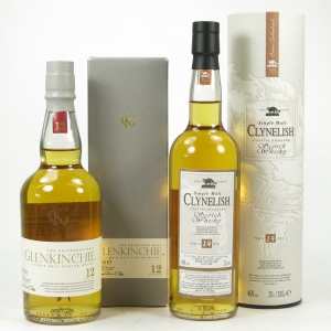 Clynelish 14 Year Old and Glenkinchie 12 Year Old 2 x 20cl