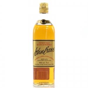 John Barr Finest Old Scotch Whisky 1980s