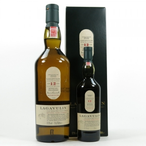 Lagavulin 12 Year Old 2006 Release / Including 20cl Miniature