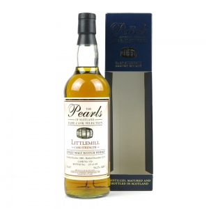 Littlemill 1988 Pearls of Scotland 27 Year Old