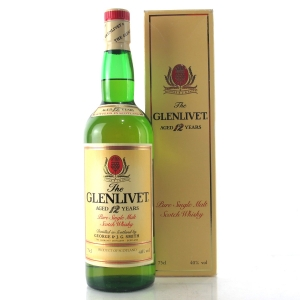 Glenlivet 12 Year Old 1980s