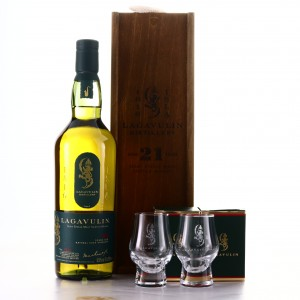 Lagavulin 21 Year Old Cask Strength / Jazz Festival 2019 - Includes 2 Glasses