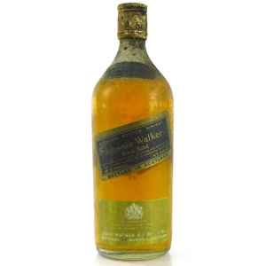 Johnnie Walker Black Label 1960s / Portuguese Import