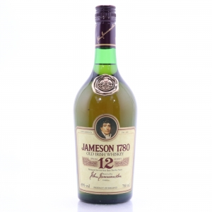 Jameson '1780' 12 Year Old 1980s