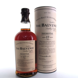 Balvenie 17 Year Old Sherry Oak First Edition 2007 Release