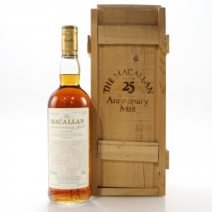 Macallan 1962 Anniversary Malt 25 Year Old