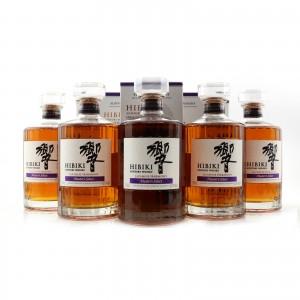 Hibiki Japanese Harmony Master's Select 5 x 70cl