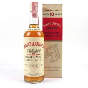 Bruichladdich 10 Year Old Rinaldi Import 1980s