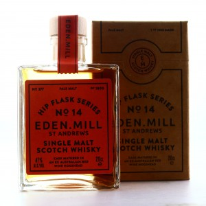 Eden Mill Single Malt Hip Flask Series No.14 20cl / Ex-Australian Red Wine Hogshead