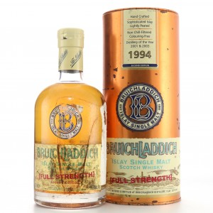 Bruichladdich 1994 Full Strength Second Edition