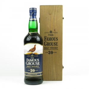 Famous Grouse 30 Year Old Blended Malt / Wooden Box