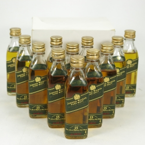 Johnnie Walker Green Label 15 Year Old 12 x 5cl