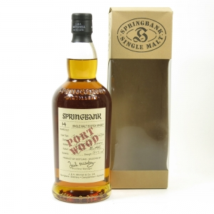Springbank 1989 14 Year Old Port Wood Front