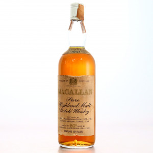 Macallan 1947 Campbell, Hope and King 80 Proof / Rinaldi Import