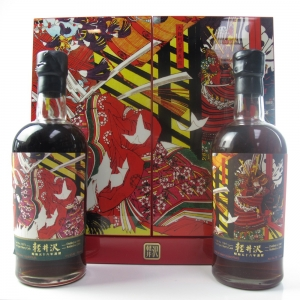 *Karuizawa 1981 Cask #164 and #4373 35 Year Old / The Great Battle Of Yashima - 1 of 155 bottles