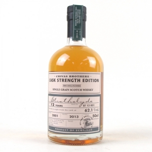 Strathclyde 2001 12 Year Old Cask Strength Batch #001