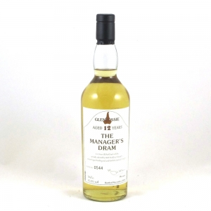 Glenlossie 12 Year Old Manager's Dram 2004 - Front