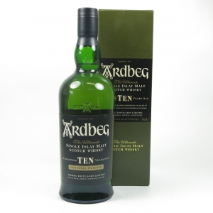Ardbeg 10 Year Old Front