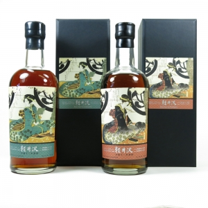 Karuizawa 1999 / 2000 Geisha Single Cask #2332 and #2339 / 2 x 70cl