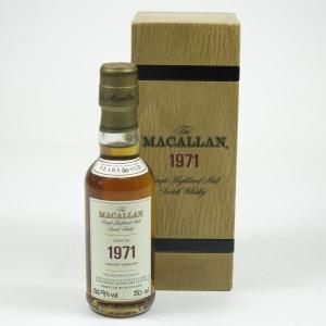 Macallan 1971 Fine and Rare 5cl