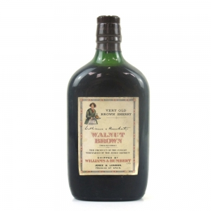 Williams and Humbert Walnut Brown Very Old Sherry 1960s Half Bottle
