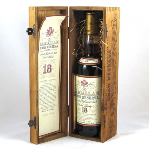 Macallan 1979 Gran Reserva 18 Year Old Open