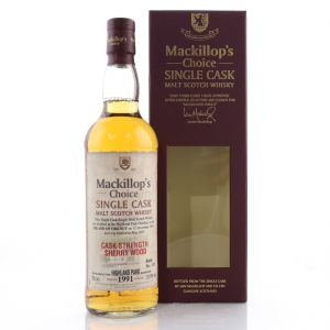 Highland Park 1991 Mackillop's Choice Sherry Wood