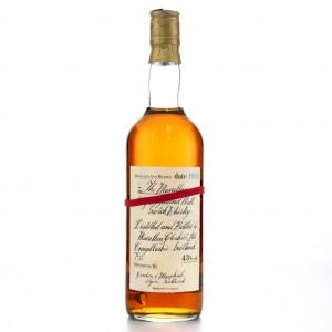 Macallan 1950 Handwritten Label
