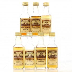 Gordon & MacPhail Miniature Selection 7 x 5cl / includes Dalwhinnie 1962