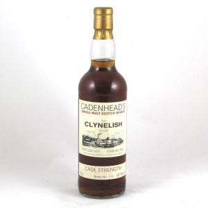 Clynelish 1972 Cadenhead Cask #5641 Front