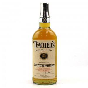 Teacher's Highland Cream 1980s