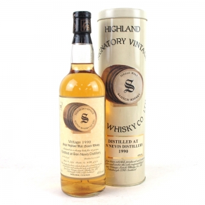 Ben Nevis 1990 Signatory Vintage 11 Year Old Sherry Cask