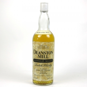 Deanston Mill Single Malt 1970s