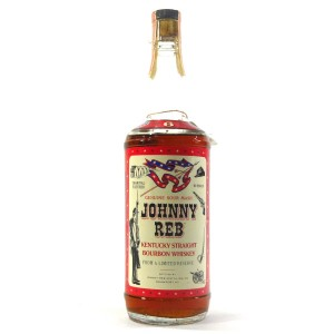 Johnny Reb 6 Year Old Kentucky Straight Bourbon 1960s