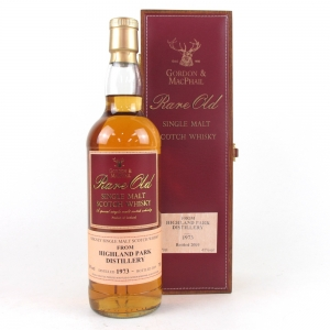 Highland Park 1973 Gordon and MacPhail Rare Old First Fill Sherry