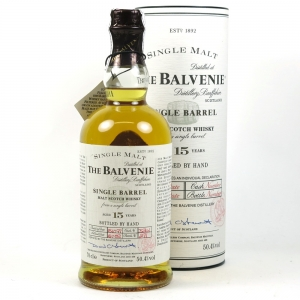Balvenie 1982 15 Year Old Single Barrel front