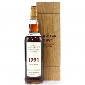 Macallan 1991 Fine and Rare 25 Year Old