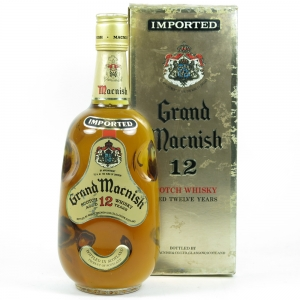 Grand Macnish 12 Year Old front