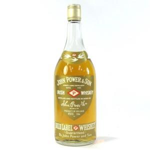 John Power & Son Gold Label Irish Whiskey 1 Litre 1980s