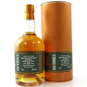 Macallan 22 Year Old Cadenhead's Duthies