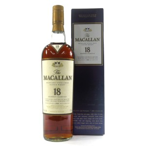 Macallan 1988 18 Year Old 75cl / US Import