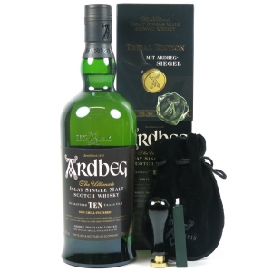 Ardbeg Tribal 10 Year Old front