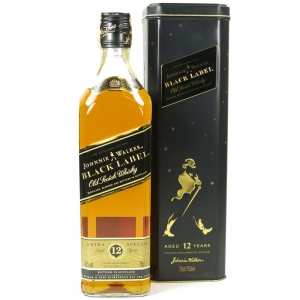 Johnnie Walker Black Label 12 Year Old 75cl Front