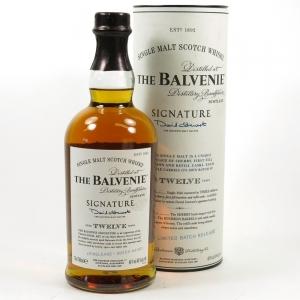Balvenie 12 Year Old Signature Batch 001 Front