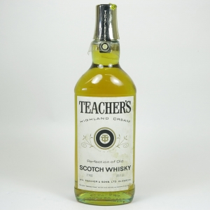 Teacher's Highland Cream 1970s