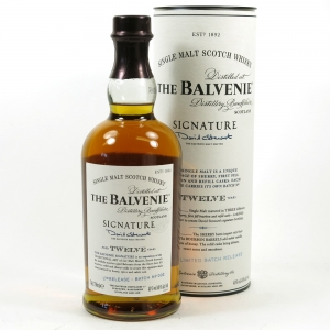 Balvenie 12 Year Old Signature Batch 002 Front