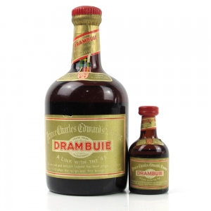 Drambuie Liqueur 1960s Including Miniature 70cl and 5cl