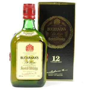 Buchanan's 12 Year Old De Luxe Front